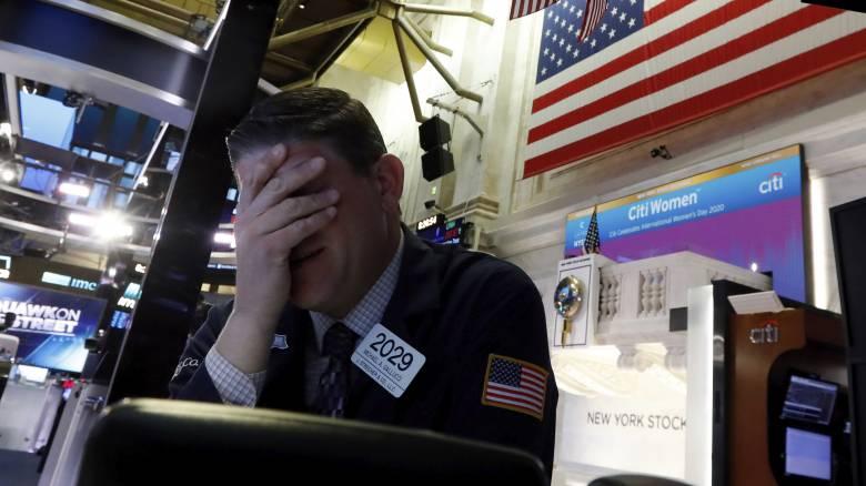 Κορωνοϊός: Διακοπή 15 λεπτών στη συνεδρίαση της Wall Street