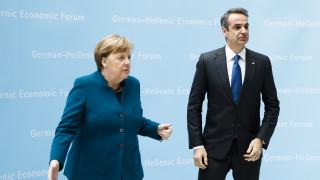 Μητσοτάκης - Μέρκελ: Συμφώνησαν στην ανάγκη αντιμετώπισης της τουρκικής προκλητικότητας