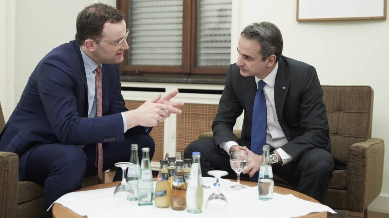 Σημαντικές επαφές Μητσοτάκη με πολιτικούς και οικονομικούς παράγοντες στο Βερολίνο