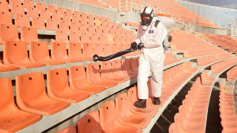 Κορωνοϊός: Ανώτατο όριο 60 ατόμων σε όλα τα γήπεδα - Ποιοι έχουν δικαίωμα εισόδου
