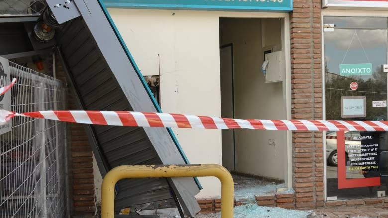 Έκρηξη σε ATM στη Νέα Πεντέλη: Οι ληστές δεν κατάφεραν να αποσπάσουν χρήματα