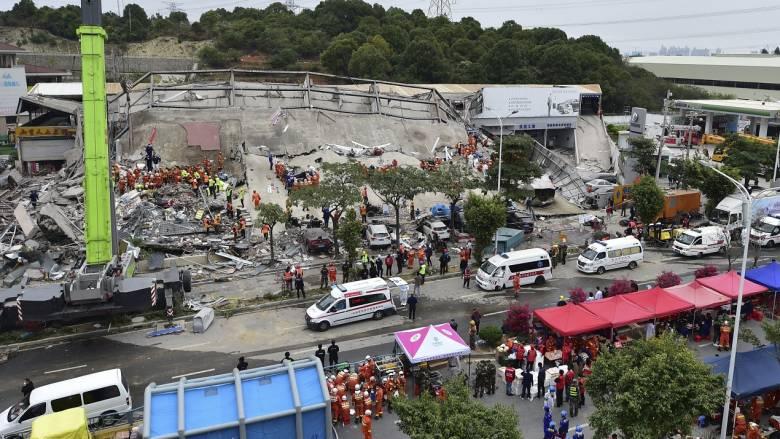 Κίνα: Στους 26 οι νεκροί από την κατάρρευση του ξενοδοχείου με ασθενείς του κορωνοϊού