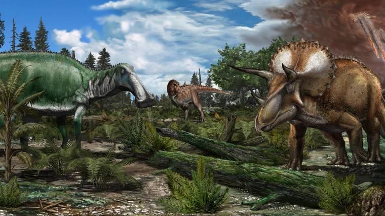 Πιο μικρή η ημέρα στο τέλος της εποχής των δεινοσαύρων, λένε οι επιστήμονες