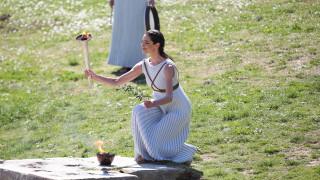 Κορωνοϊός - Αρχαία Ολυμπία: Κλειστή για το κοινό η τελετή αφής της Ολυμπιακής Φλόγας