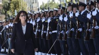 Αικατερίνη Σακελλαροπούλου: Ορκίστηκε η πρώτη γυναίκα ΠτΔ και αναλαμβάνει καθήκοντα