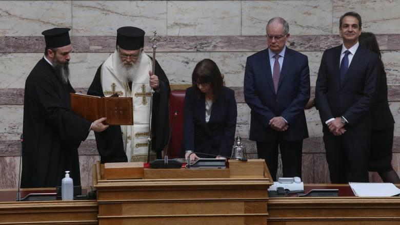 Αικατερίνη Σακελλαροπούλου: Ποια είναι η νέα Πρόεδρος της Δημοκρατίας