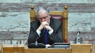 Συλλυπητήρια του προέδρου της Βουλής για τον θάνατο του Πετσάλνικου