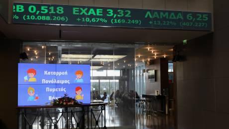 Ανοδικό κλείσιμο στο Χρηματιστήριο – Εβδομαδιαίες απώλειες 19,38% για τον Γενικό Δείκτη