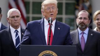 Κορωνοϊός: Ο Τραμπ κήρυξε τις ΗΠΑ σε κατάσταση έκτακτης ανάγκης