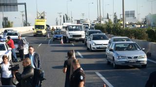 Θεσσαλονίκη: Καραμπόλα με τραυματίες - Κλειστή η Εγνατία Οδός