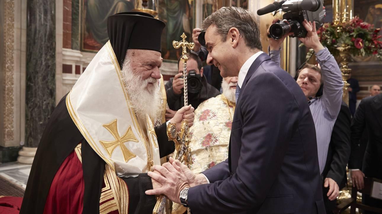Κορωνοϊός: Τι ζήτησε ο Μητσοτάκης από τον Ιερώνυμο