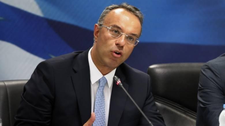Σταϊκούρας: Δεν υφίσταται εφέτος ο στόχος του 3,5% του ΑΕΠ για την Ελλάδα