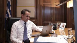 Κορωνοϊός: Τηλεδιασκέψεις Μητσοτάκη με Κουτσούμπα και Βελόπουλο