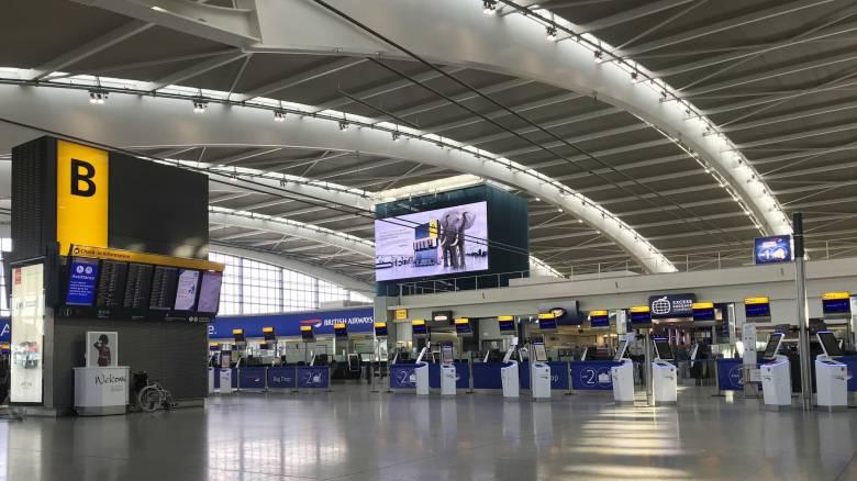 Κορωνοϊός: Επιστολή - κραυγή αγωνίας από τα βρετανικά αεροδρόμια προς Τζόνσον