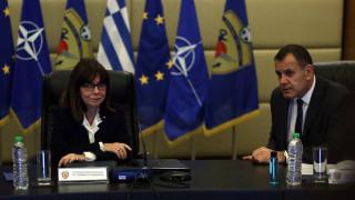Παναγιωτόπουλος στην ΠτΔ: Οι Ένοπλες Δυνάμεις θα εκτελέσουν την αποστολή τους στο ακέραιο