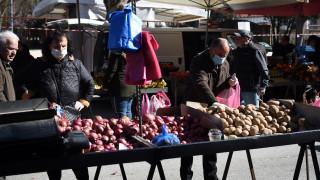 Κορωνοϊος: Περιορισμοί στα προϊόντα των λαϊκών αγορών - Τι θα πωλείται