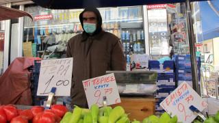 Κορωνοϊός: Αυξήσεις σε προϊόντα στις λαϊκές καταγγέλλουν οι παραγωγοί στη Θεσσαλονίκη