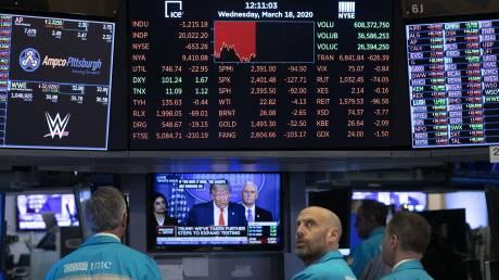 Επιμένουν οι «αρκούδες» στη Wall Street - Κατρακυλά σε χαμηλά 2002 το πετρέλαιο
