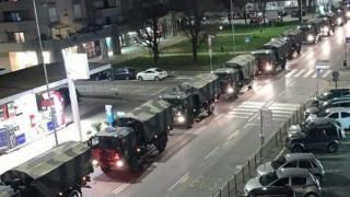 Απελπιστική η κατάσταση στην Ιταλία: Στρατιωτικά οχήματα μεταφέρουν τις σορούς θυμάτων του ιού