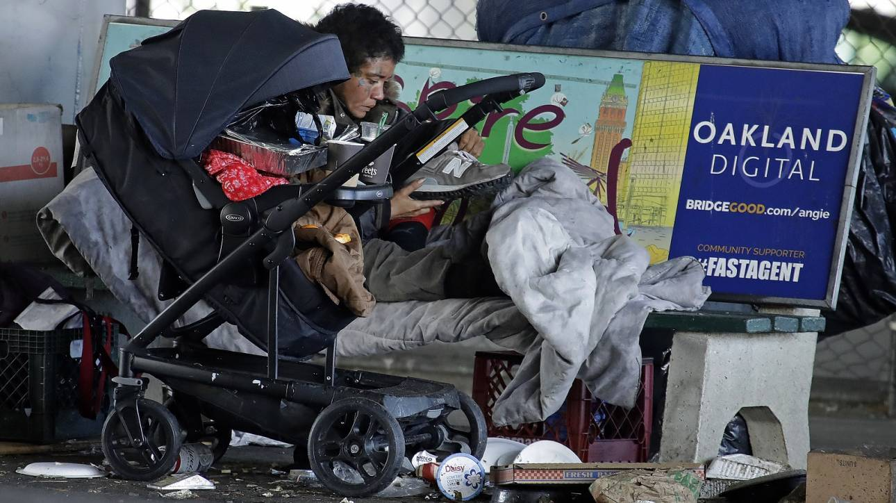 Κορωνοϊός: 60.000 άστεγοι στην Καλιφόρνια κινδυνεύουν να προσβληθούν τις επόμενες μέρες