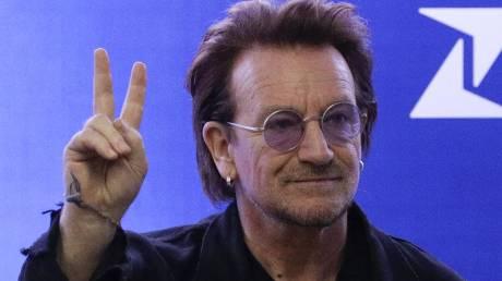 O Μπόνο, των U2, έγραψε τραγούδι για τον κορωνοϊό (vid)