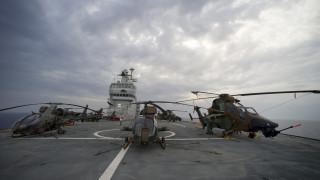 Γαλλία: Πλοίο του Πολεμικού Ναυτικού στη μεταφορά ασθενών του κορωνοϊού