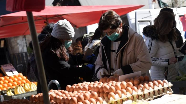 Κορωνοϊός: Κλειστές το Σάββατο όλες οι λαϊκές αγορές