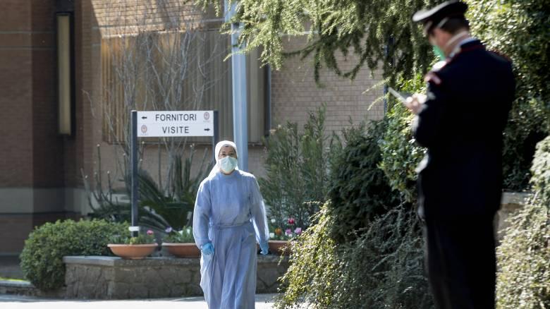 Κορωνοϊός - Δραματική η κατάσταση στην Ιταλία: 627 νεκροί το τελευταίο 24ωρο