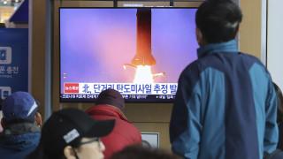 Βαλλιστικούς πυραύλους μικρού βεληνεκούς εκτόξευσε η Βόρεια Κορέα