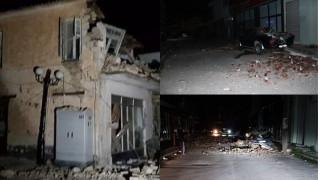 Σεισμός Πάργα: Τρεις τραυματίες και πολλές υλικές ζημιές σε σπίτια και δρόμους