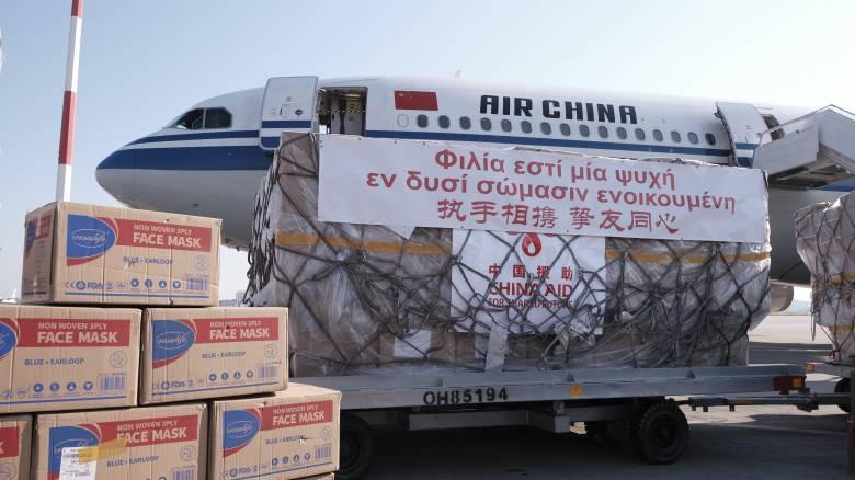 Κορωνοϊός στην Ελλάδα: Ήρθαν 550.000 μάσκες από την Κίνα για τα ελληνικά νοσοκομεία