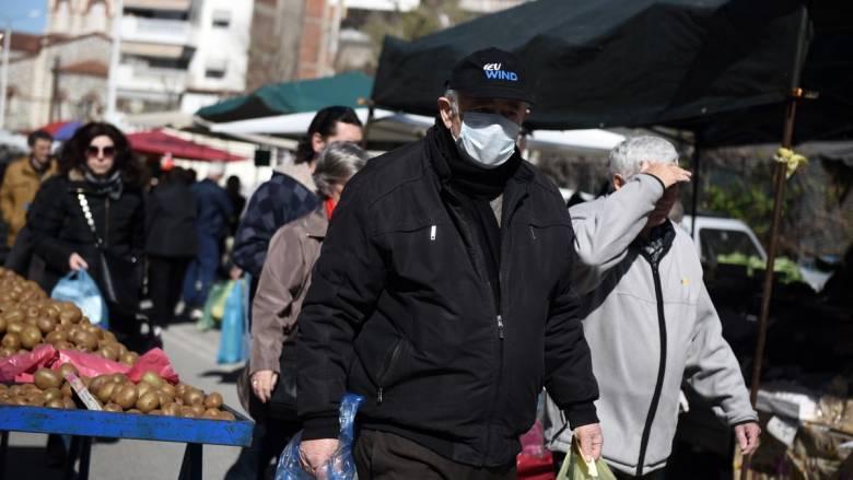 Κορωνοϊός - Ρόδος: Λειτούργησε λαϊκή αγορά παρά τις απαγορεύσεις