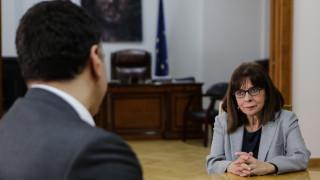Στο υπουργείο Υγείας η Κατερίνα Σακελλαροπούλου