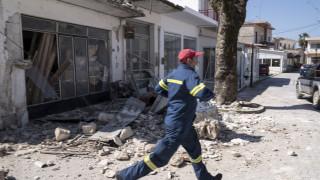 Σεισμός Πάργα: Σώθηκε από θαύμα ζευγάρι - Σοβαρές ζημιές σε δεκάδες σπίτια