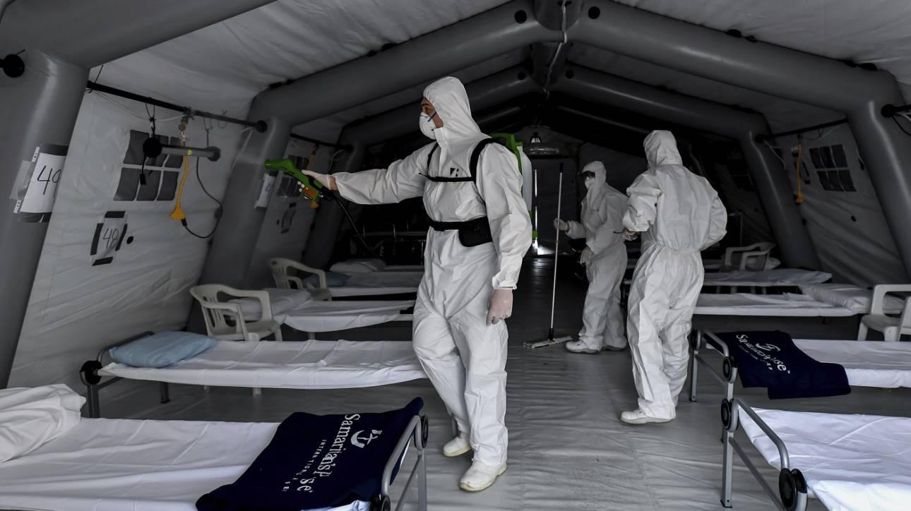 Κορωνοϊός: Η Κούβα έστειλε στην Ιταλία γιατρούς με εμπειρία από την επιδημία Έμπολα
