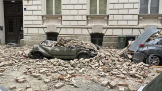 Κροατία: Μεγάλες καταστροφές σε κτήρια λόγω των δύο μεγάλων σεισμών