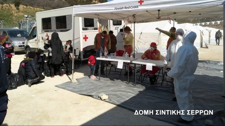 Ο Ερυθρός Σταυρός στο Κλειδί Σερρών για πρωτοβάθμια φροντίδα υγείας σε μετανάστες