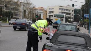 Απαγόρευση κυκλοφορίας: Άδειοι δρόμοι, απολυμάνσεις και έλεγχοι στην Αθήνα