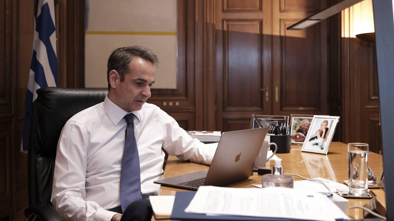 Κορωνοϊός: Με τηλεδιάσκεψη συνεδριάζει σήμερα το υπουργικό συμβούλιο
