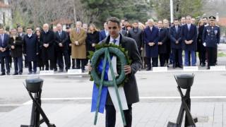 25η Μαρτίου: Κατάθεση στεφάνου από τον Μητσοτάκη στο Μνημείο του Άγνωστου Στρατιώτη το πρωί