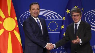 Βόρεια Μακεδονία: Ικανοποίηση για το «πράσινο» φως της ΕΕ στην έναρξη ενταξιακών διαπραγματεύσεων