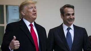 Τραμπ για 25η Μαρτίου: Στενότερη συνεργασία Ελλάδας-ΗΠΑ στα θέματα εθνικής ασφάλειας