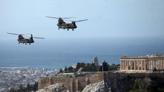 25η Μαρτίου: Λιτοί εορτασμοί και πτήσεις μαχητικών