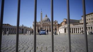 Κορωνοϊός - Βατικανό: Χωρίς πιστούς οι λειτουργίες του Πάσχα – Κρούσμα στην κατοικία του πάπα