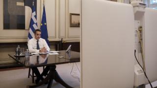 Κορωνοϊός: Τηλεδιάσκεψη του Κυριάκου Μητσοτάκη με τους ηγέτες της Ε.Ε.
