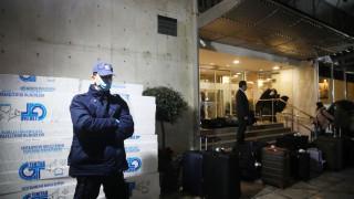 Κορωνοϊός: Σε καραντίνα στο κεντρικό ξενοδοχείο της Αθήνας δεκάδες επαναπατρισθέντες από την Τουρκία