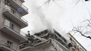 Θεσσαλονίκη: Δύο νεκροί από φωτιά σε διαμέρισμα