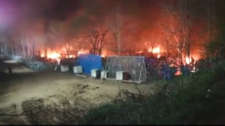 Βίντεο – ντοκουμέντο από τον Έβρο: Οι Τούρκοι καίνε τις σκηνές των προσφύγων