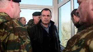 Παναγιωτόπουλος: Παραμένει ο κόκκινος συναγερμός στον Έβρο - Αντισηπτικά και μάσκες από τον στρατό