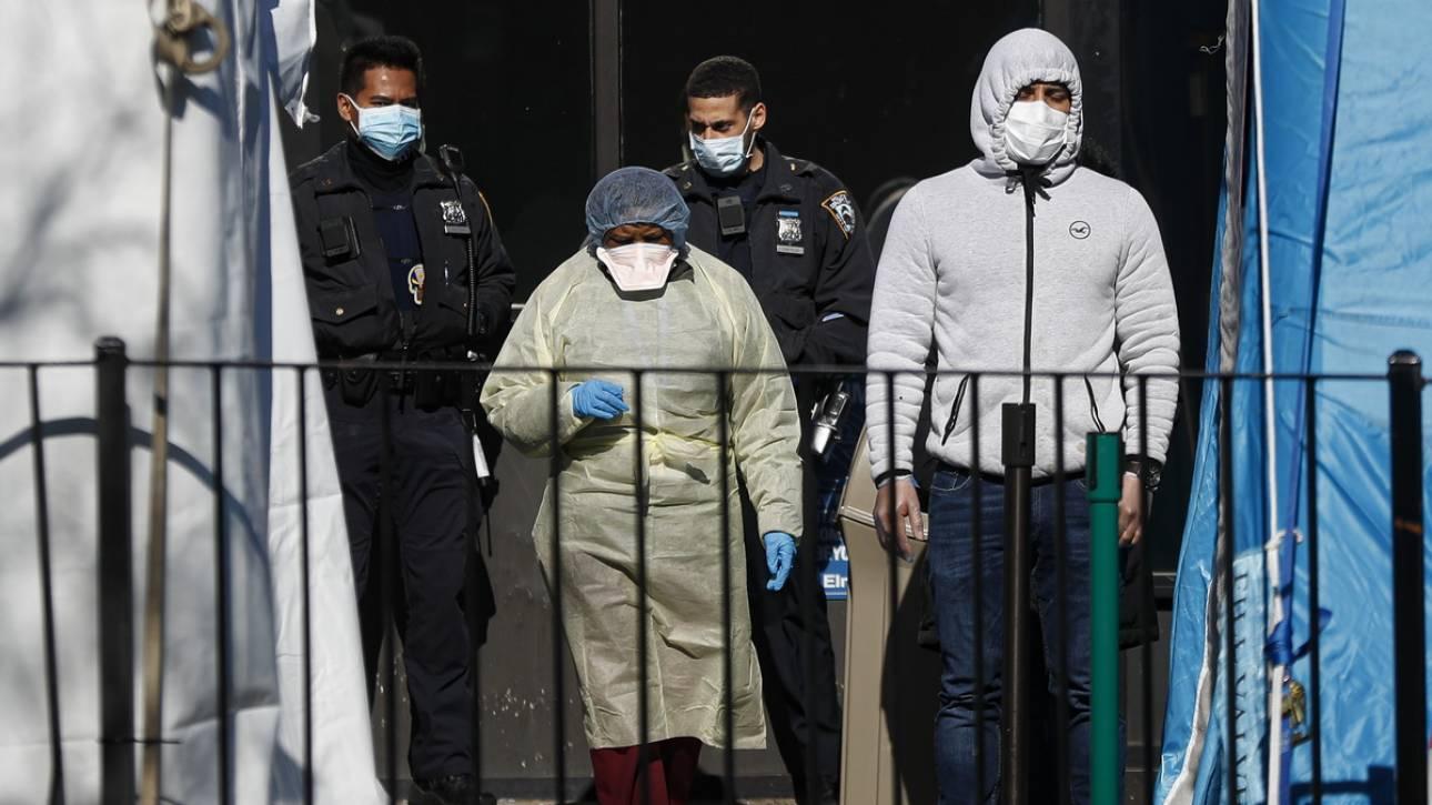 Σαρώνει τις ΗΠΑ ο κορωνοϊός: Περισσότερα από 100.000 τα κρούσματα - 1.544 οι νεκροί
